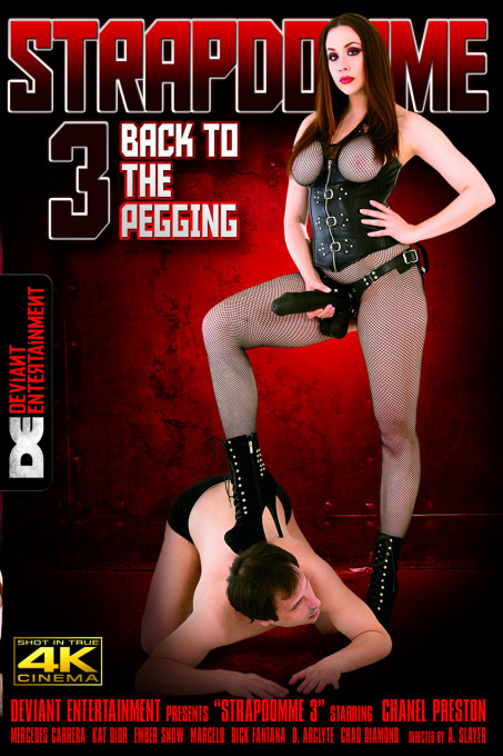 Deviant StrapDomme 3 Back To The Pegging