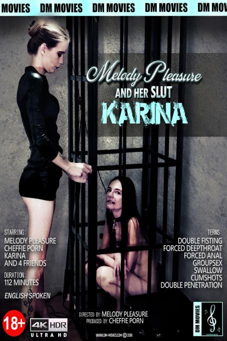 Melody and het naughyt slut Karina