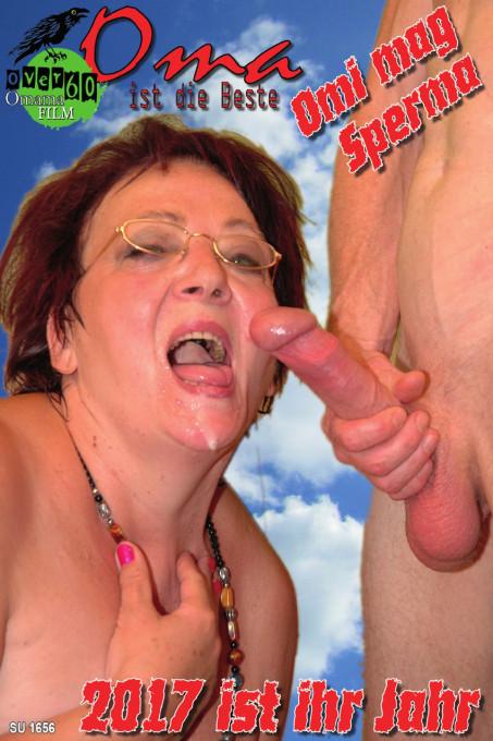 Oma ist die Beste - Omi liebt Sperma