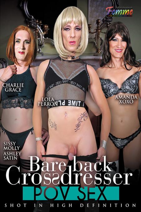 Bareback Crossdresser POV Sex