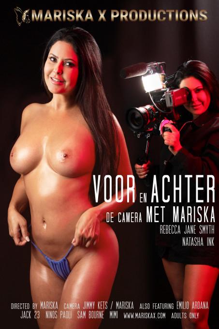 Voor en Achter de camera mat Mariska
