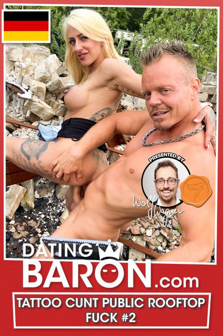 Geiles Outdoor-Fickdate mit Tattoo-Schlampe Harleen!