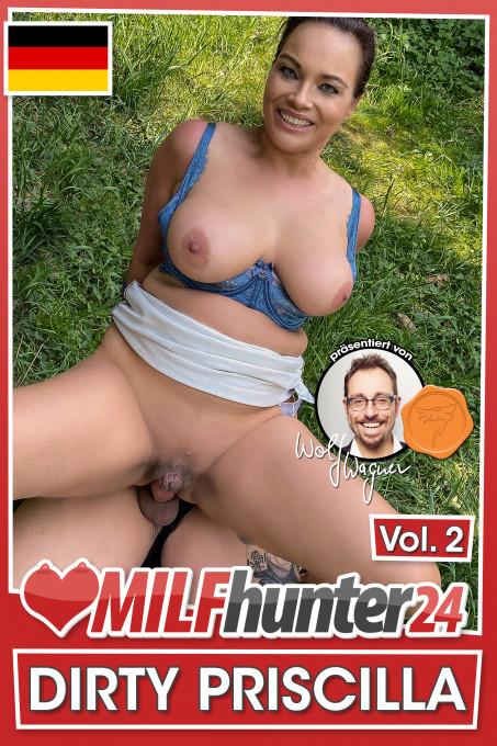 Der MILF-Hunter trifft eine dicktittige MILF und fickt sie schamlos im Park