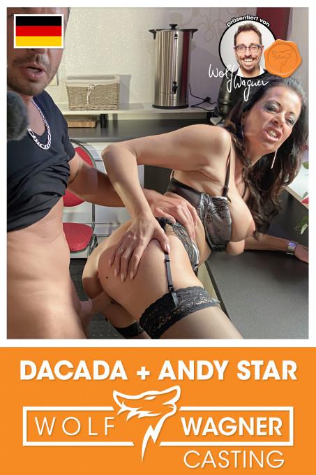 Casting-Fick for versaute MILF DaCada!